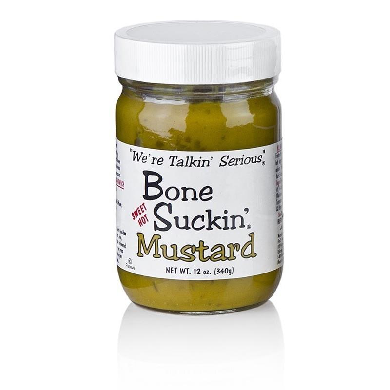 Musztarda Barbecue, Bone Suckin Ford´s Food, 340g