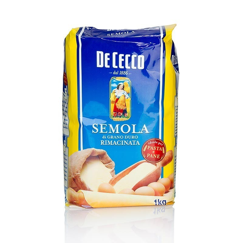 Semola di Grano Duro, semolina z pszenicy durum, nr 176, 1 kg