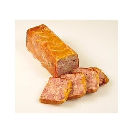 Terina z mięsa z kaczki, z pomarańczami, trapez, 1 kg