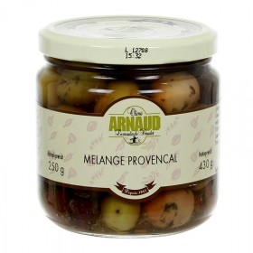 Oliwki mix, Melange Provencal z tymiankiem w oliwie z pestkami, Arnaud, 430 g