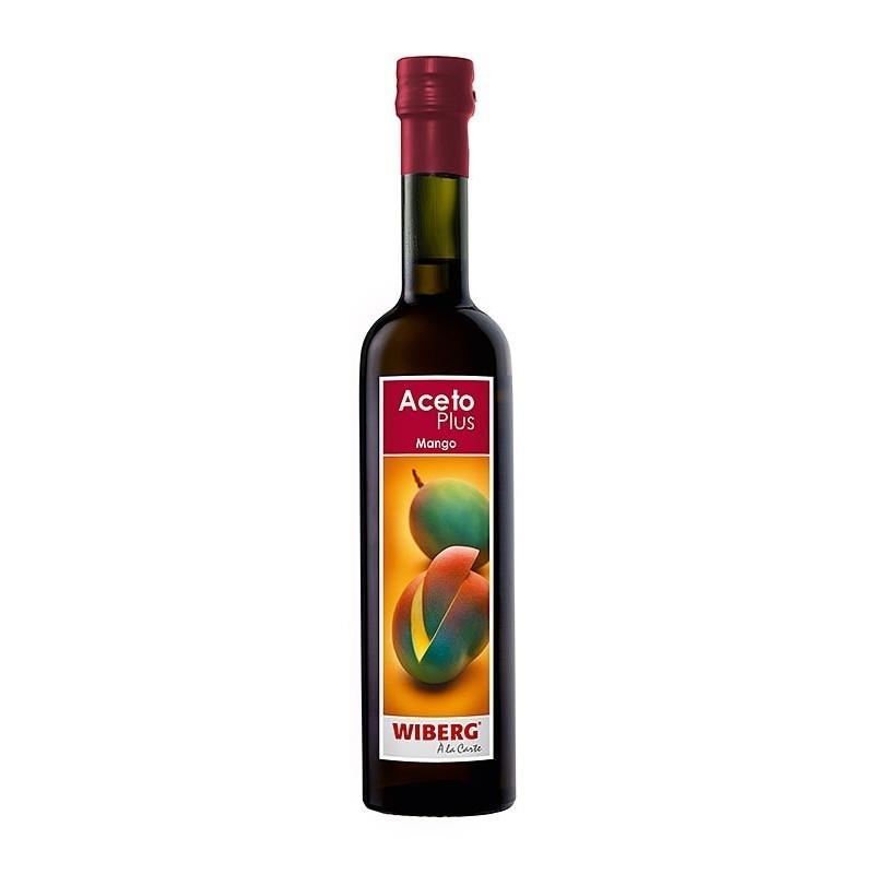 Ocet Plus Mango, 1,4% kwaśności, 500 m, Wiberg