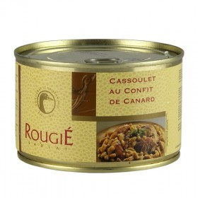 Cassoulet z kaczki, z miękkim i delikatnym mięsem Entenconfit, 420 g