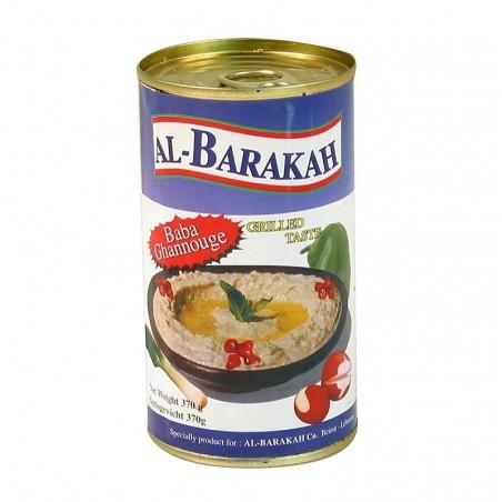 Baba Ghannouge – pasta z oberżyn z dodatkiem sezamu, 370 g