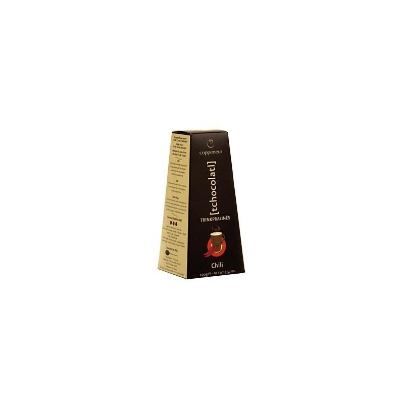 Coppeneur czekolada do picia chilli BIO 100g