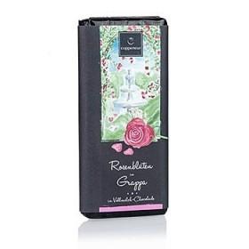 Czekolada o smaku grappy & płatków róży, Czekolada o smaku grappy & płatków róży 75 g
