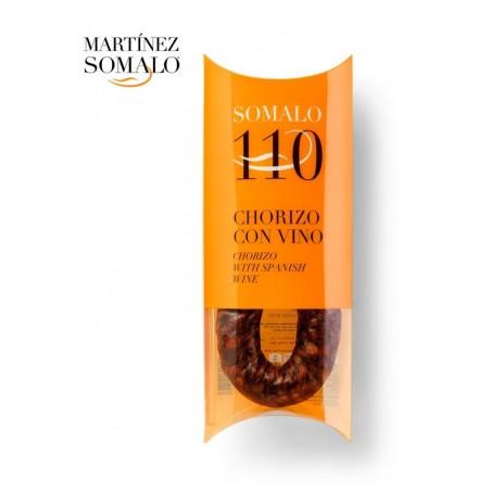 CHORIZO Z WINEM 200G (w opakowaniu prezentowym) - produkt naturalny