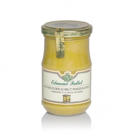 Musztarda Dijon z octem balsamicznym i miodem, Fallot, 190 ml