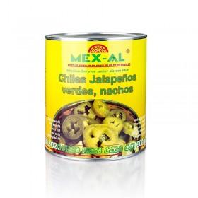 Chili Jalapenos pocięte 2,8kg, netto 1,56kg