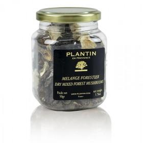 Mieszanka suszonych grzybów leśnych, Plantin, 50 g