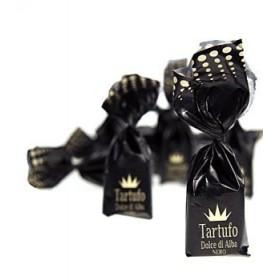 Czekoladki truflowe z Piemontu Tartuflanghe, czarne, 200 g
