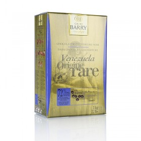 Original Venezuela, ciemna czekolada, callets, 72% kakao, 1 kg
