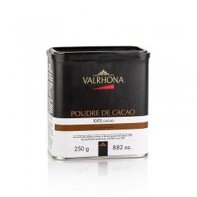 Proszek kakaowy, mocno odtłuszczony, 10% masła kakaowego, Valrhona, 250 g