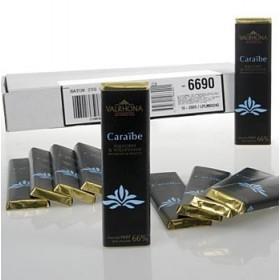 Valhrona, gorzka czekolada Caraibe, 50x20g