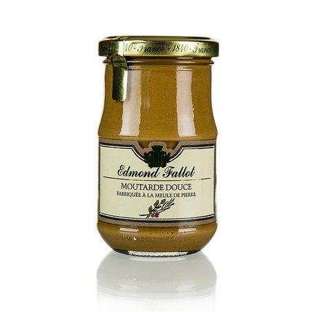 Musztarda Dijon z przyprawami, brązowa, Fallot, 190 ml