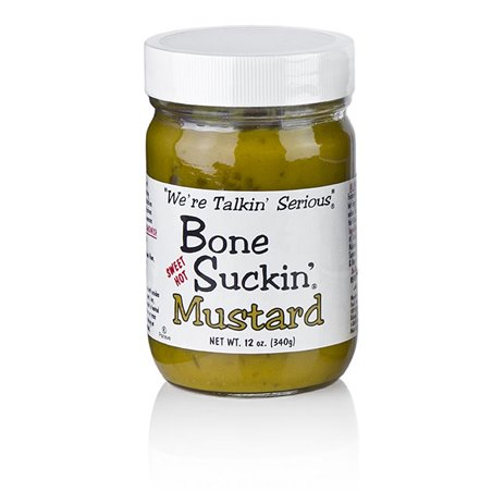 Musztarda Barbecue, Bone Suckin Ford´s Food 340g