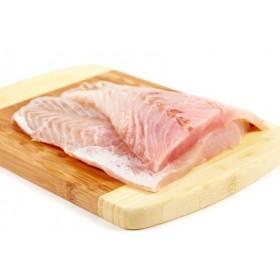 Filet z sandacza ze skórą  ok. 300-500 g/szt. opak 3kg.