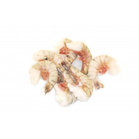 Krewetki olbrzymie morskie 6/8 bez głowy, z pancerzem, ok 1.0 kg/opak mrożone