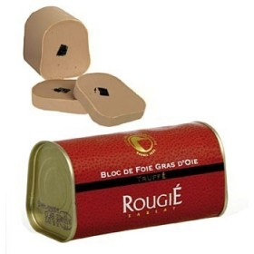 Rougie - Foie gras z gęsi z truflami, trapez 210g