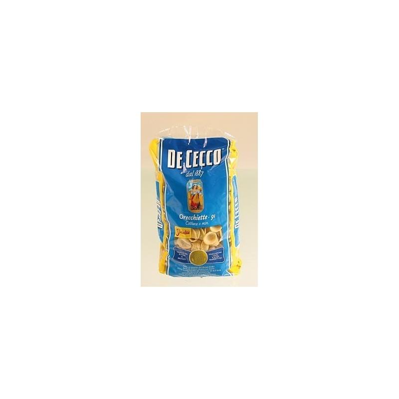 De Cecco, makaron Orecchiette, Nr. 91, 500 g