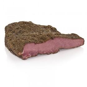 """Oryginalne amerykańskie pastrami """"New York"""" – mięso wołowe wędzone na ciepło, ok. 1,5 kg"""