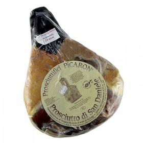 Szynka San Daniele, szynka w całości, bez kości, Włochy, ok. 8 kg