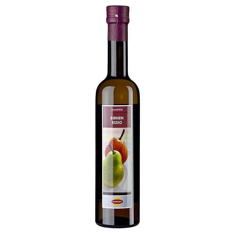 Ocet gruszkowy, z soku świeżych miodowych gruszek, 5% kwaśności, 500 ml, Wiberg