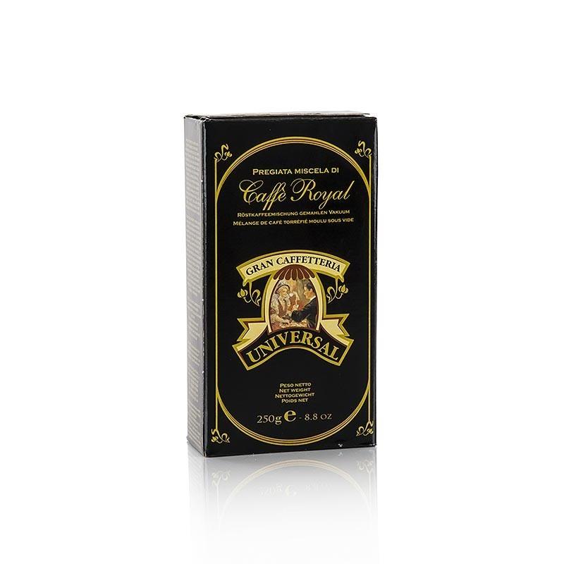 Espresso Universal Royal, 100% Arabica, mielone ziarna, 250 g