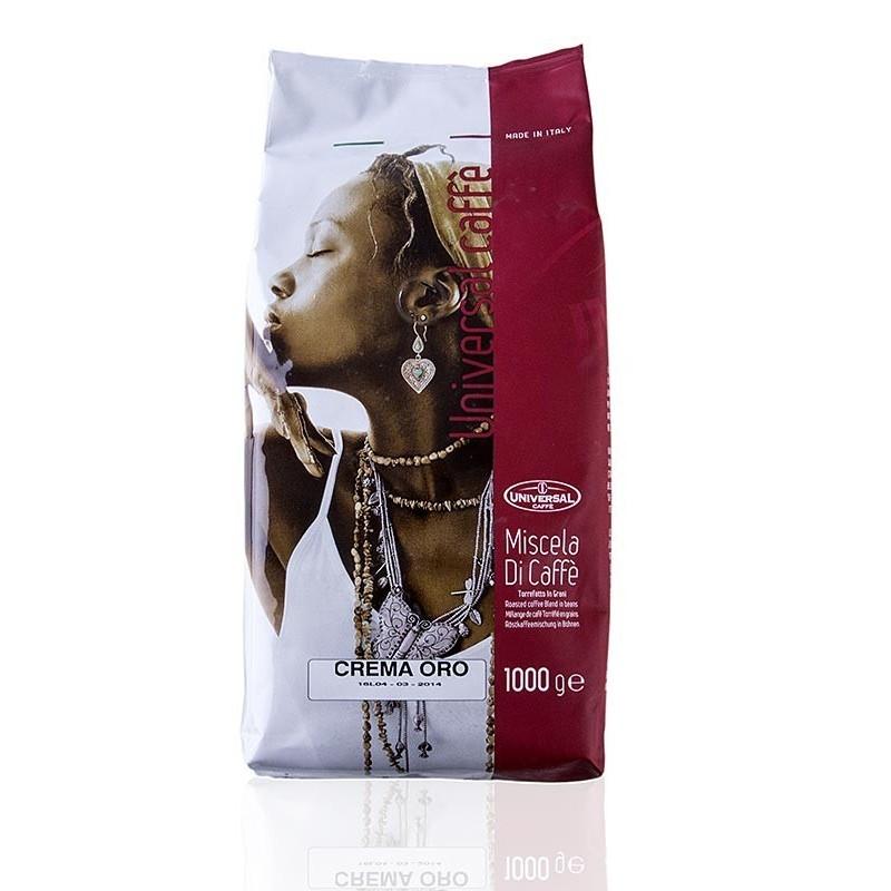 Espresso Universal Supercrema - Crema Oro, całe ziarna, 1 kg