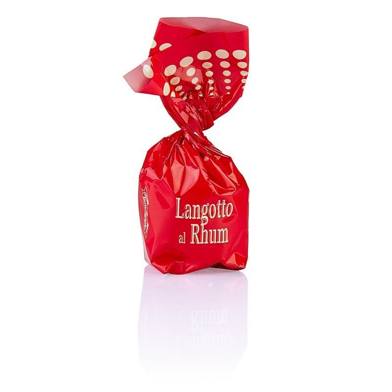 Pralinki - Langotto, rum & gorzka czekolada, każda 17g, 200g, opakowanie prezentowe