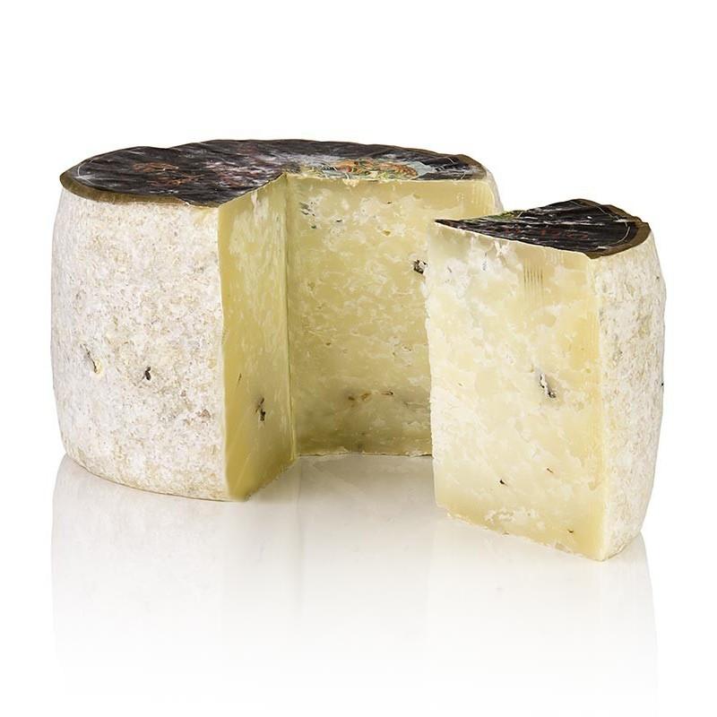 """Pecorino """"Tartuffo"""" Premium, ser kozi z truflą, 2 miesięczny, ok. 650g"""