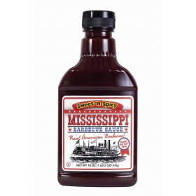 Sos Mississippi BBQ Sweet'n Spicy, 510 g.