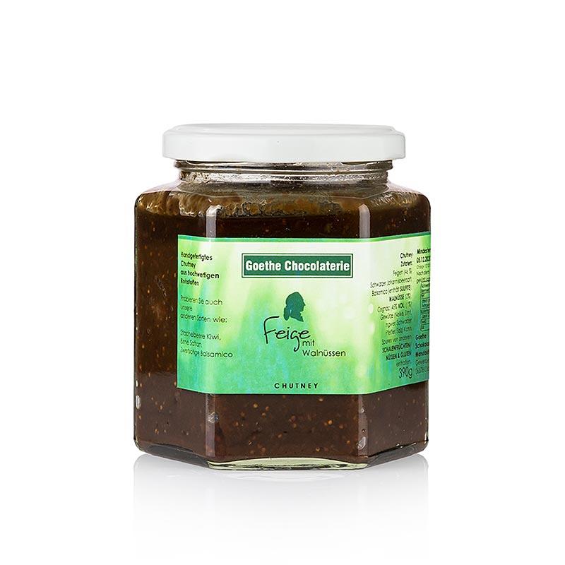 Chutney z figami i orzechami włoskimi, 390 ml