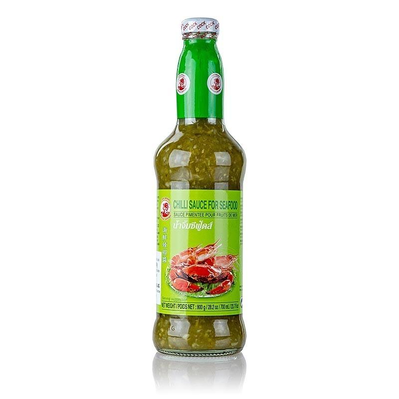 Sos chili, zielony do owoców morza, 720 ml