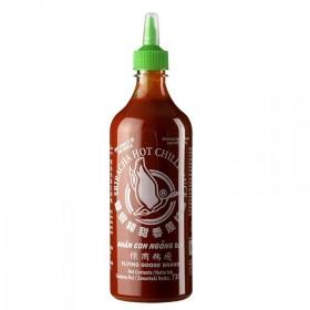 Sos chili - Sriracha, ostry, butelka z wygodnym dozownikiem