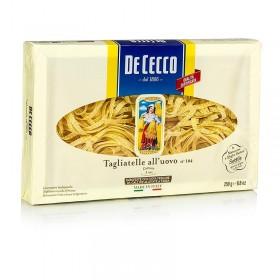 De Cecco, makaron jajeczy Tagliatelle, Nr. 104, 250 g