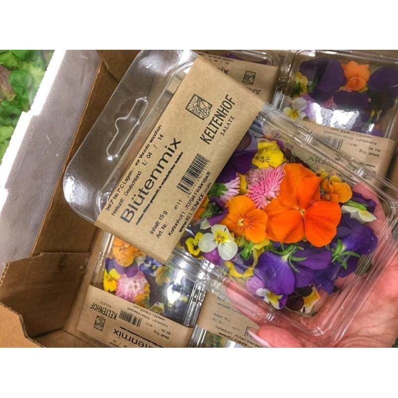 Kwiaty jadalne mix