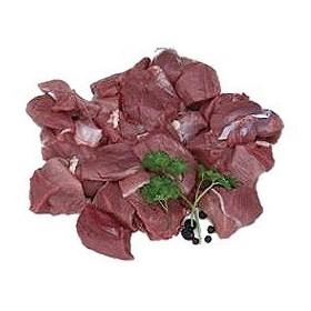 Gulasz z jelenia, ręcznie krojony 3 kg opakowanie