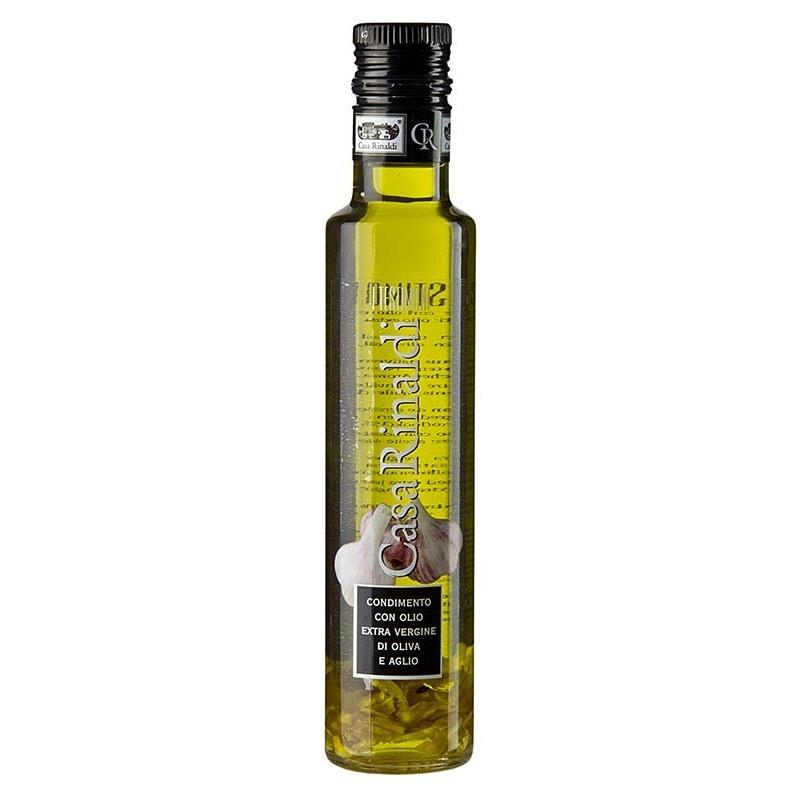 Oliwa z oliwek z czosnkiem, Casa Rinaldi, 250 ml