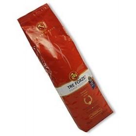 Espresso - TRE FORZE! całe ziarna, palone na ogniu z drewna oliwnego, 1 kg, Sycylia
