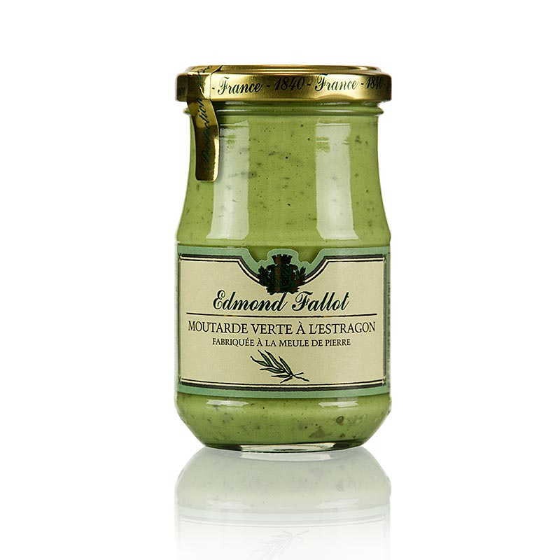 Musztarda Dijon z estragonem, Fallot, 190 ml