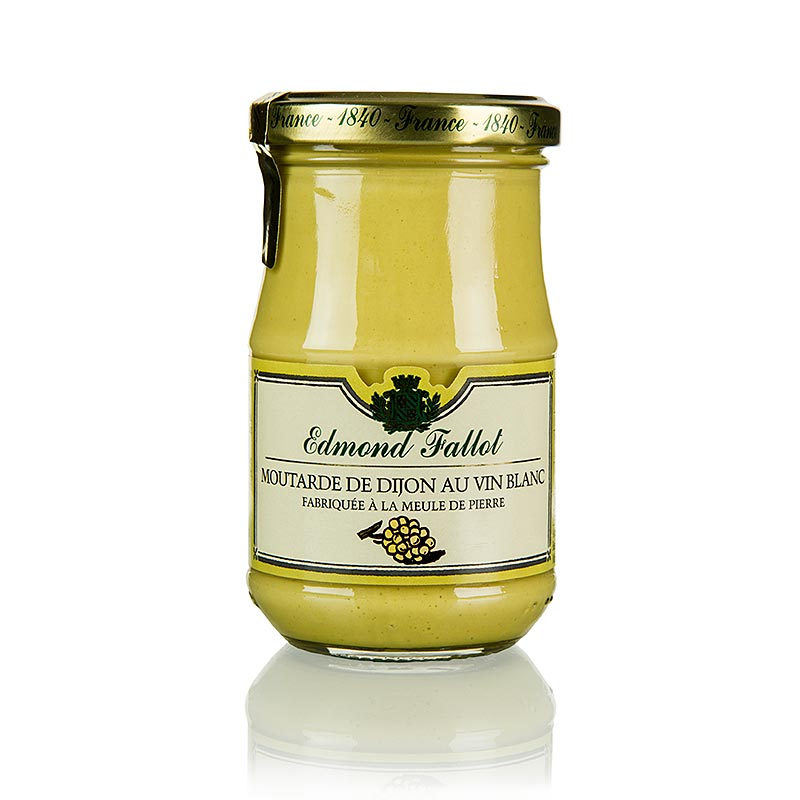 Musztarda Dijon z białym winem, Fallot, 190 ml