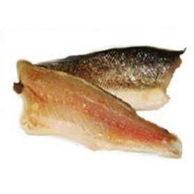 Filet z okonia morskiego, ze skórą, ok. 80-100 g/szt., opak 3kg