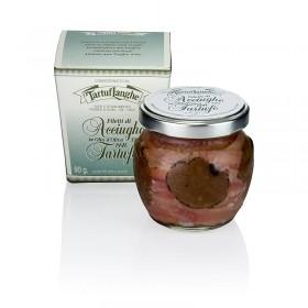 Tartuflanghe Filety z sardelek z truflami w oliwie z oliwek, 90 g