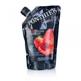 Pure owocowe z truskawek, 1 kg/opak
